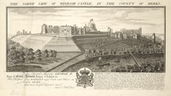 Windsor Castle from the N.W.